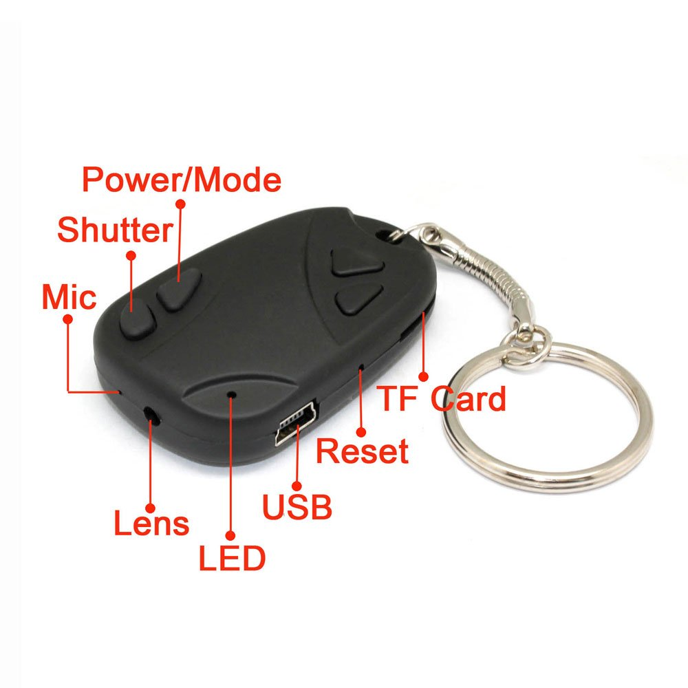 Car Keys Micro Camera How To Use